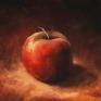 003. Rødt eple, 15 x 15 cm