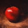 051. Rødt eple, 15 x 15 cm