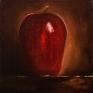 057. Rødt eple, 15 x 15 cm