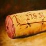 067. Rødvinskork, 60 x 80 cm